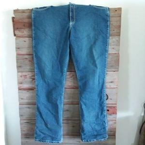 Denim - Blue bootcut Jean's
